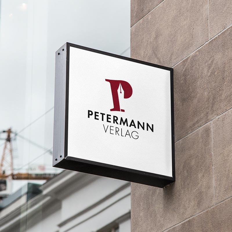 // Petermann Verlag Branding